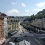 Blick auf Karlovy Vary